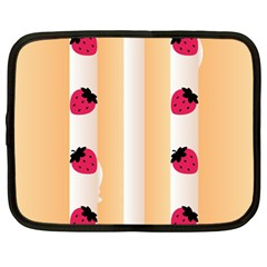 Origin Strawberry Cream Cake Netbook Case (large)
