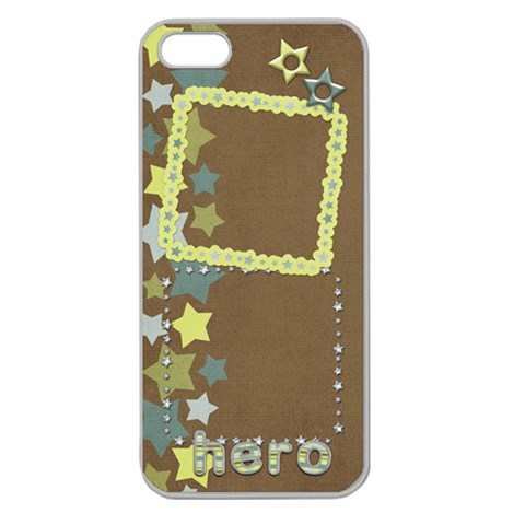 Urstar Iphone5 By Shelly   Apple Seamless Iphone 5 Case (clear)   R3dnj8ed85mm   Www Artscow Com Front