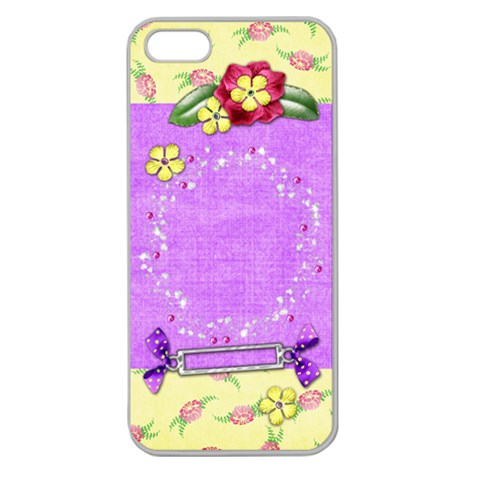Vibrant Iphone5 By Shelly   Apple Seamless Iphone 5 Case (clear)   Uuao3qokoh14   Www Artscow Com Front