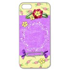 Vibrant_iphone5 - Apple Seamless iPhone 5 Case (Clear)