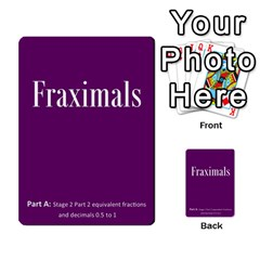 Fraximals With Decimals St 2 Pt 2 By Sarah   Multi Purpose Cards (rectangle)   K4o6vtq3rxk8   Www Artscow Com Back 6
