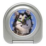 Alaskan Malamute Dog Travel Alarm Clock