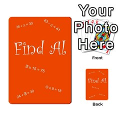 Find Al By Michelle Mcgregor   Multi Purpose Cards (rectangle)   Wf45mlonry2x   Www Artscow Com Back 48