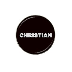 Christian Name Monogram Hat Clip Ball Marker (10 pack) by MakeYourOwnGiftIdeasUK