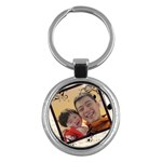 Daddy - Key Chain (Round)