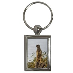 Meerkat, Key Chain (Rectangle) by TimeBomb