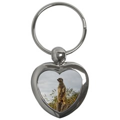 Meerkat, Key Chain (Heart) by TimeBomb