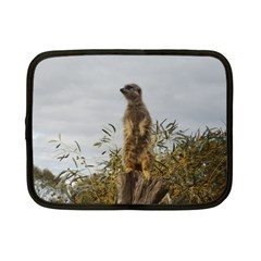 Meerkat, Netbook Case (Small) by TimeBomb