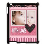 love, kids, memory, happy, fun  - Apple iPad 3/4 Case (Black)