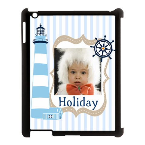 Baby, Love, Kids, Memory, Happy, Fun  By Mac Book   Apple Ipad 3/4 Case (black)   Ao0rzfk5p9lk   Www Artscow Com Front