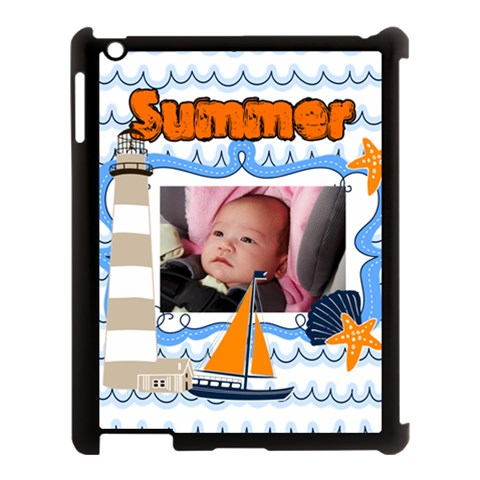 Baby, Love, Kids, Memory, Happy, Fun  By Mac Book   Apple Ipad 3/4 Case (black)   Yjzgzkmsq39x   Www Artscow Com Front