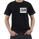 Key West Shirt - Black T-Shirt (Two Sides)