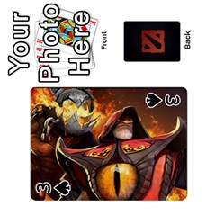 Dota Cards By Tom   Playing Cards 54 Designs   Dtf7c0mw8fgw   Www Artscow Com Front - Spade3