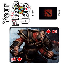 Dota Cards By Tom   Playing Cards 54 Designs   Dtf7c0mw8fgw   Www Artscow Com Front - Diamond5