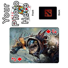 Jack Dota Cards By Tom   Playing Cards 54 Designs   Dtf7c0mw8fgw   Www Artscow Com Front - DiamondJ