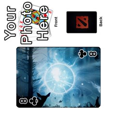 Dota Cards By Tom   Playing Cards 54 Designs   Dtf7c0mw8fgw   Www Artscow Com Front - Club8