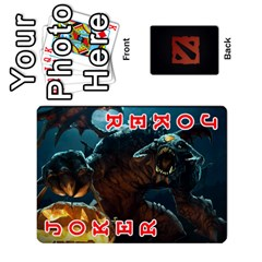 Dota Cards By Tom   Playing Cards 54 Designs   Dtf7c0mw8fgw   Www Artscow Com Front - Joker2