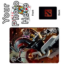 Dota Cards By Tom   Playing Cards 54 Designs   Dtf7c0mw8fgw   Www Artscow Com Front - Spade9