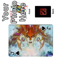 Jack Dota Cards By Tom   Playing Cards 54 Designs   Dtf7c0mw8fgw   Www Artscow Com Front - SpadeJ