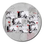 Collage Round Mousepad