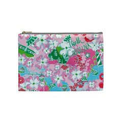Nc By Erin Rucker   Cosmetic Bag (medium)   95fd858y37z7   Www Artscow Com Front