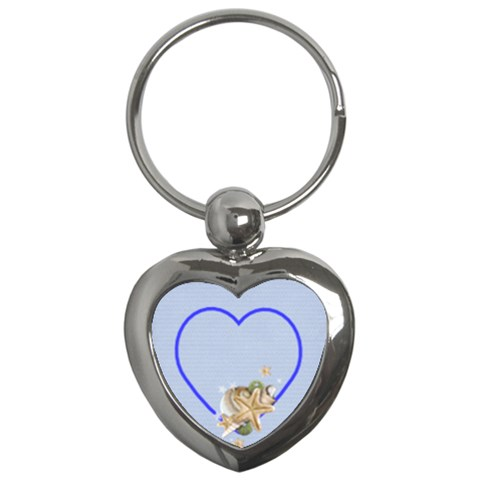 Spirit Of The Sea Key Chain By Elena Petrova   Key Chain (heart)   7sscdiorvowo   Www Artscow Com Front