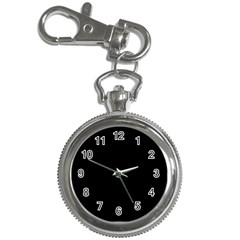 Black, Key Chain Watch by TimeBomb