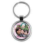 KC for Fung Gu Por - Key Chain (Round)