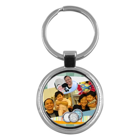 Kc For Mui Gu Por By Ip Tsui Yee   Key Chain (round)   Ovy16c0rbi3e   Www Artscow Com Front