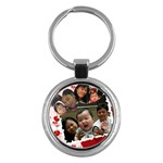 KC for Luk Gu Por - Key Chain (Round)