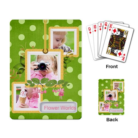 Kids, Fun, Child, Play, Happy By Joely   Playing Cards Single Design   H9jsxn4lwcg9   Www Artscow Com Back