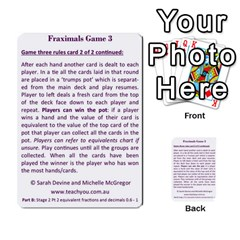 Fraximals With Decimals St 2 Pt 2 By Sarah   Multi Purpose Cards (rectangle)   Llhnwp7ogxr9   Www Artscow Com Back 53