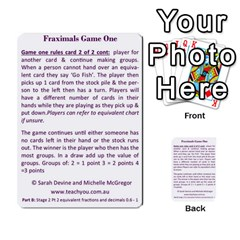 Fraximals With Decimals St 2 Pt 2 By Sarah   Multi Purpose Cards (rectangle)   Llhnwp7ogxr9   Www Artscow Com Back 49
