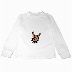 Friday Rocks Kids Long Sleeve T Shirt by funkymonkey