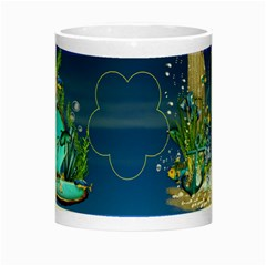 Blue Sea Luminous Mug By Elena Petrova   Night Luminous Mug   P1bzgnd3wn70   Www Artscow Com Center
