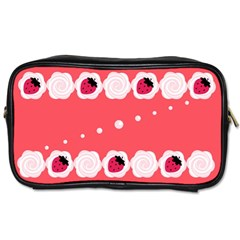 Cake Top Rose Toiletries Bag (one Side) by strawberrymilk