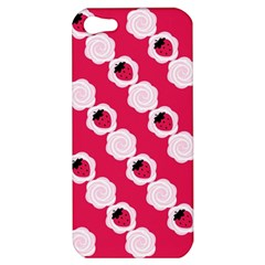 Cake Top Pink Apple Iphone 5 Hardshell Case by strawberrymilk