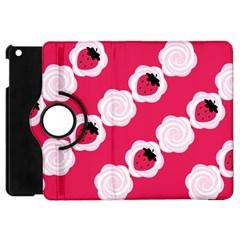 Cake Top Pink Apple Ipad Mini Flip 360 Case