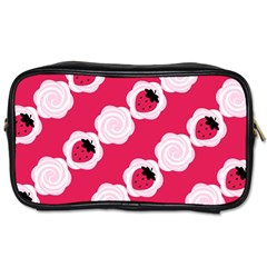Cake Top Pink Toiletries Bag (one Side) by strawberrymilk