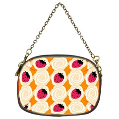Cake Top Orange Chain Purse (two Sides) by strawberrymilk