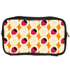 Cake Top Orange Toiletries Bag (one Side) by strawberrymilk