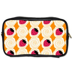 Cake Top Orange Toiletries Bag (two Sides) by strawberrymilk