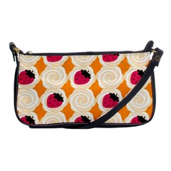 Cake Top Orange Shoulder Clutch Bag by strawberrymilk