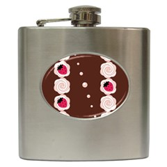 Cake Top Choco Hip Flask (6 Oz) by strawberrymilk
