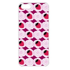 Cake Top Grape Apple Iphone 5 Seamless Case (white) by strawberrymilk