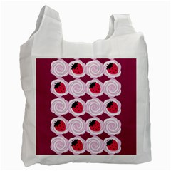 Cake Top Grape Recycle Bag (one Side)
