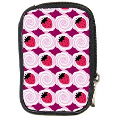 Cake Top Grape Compact Camera Leather Case by strawberrymilk
