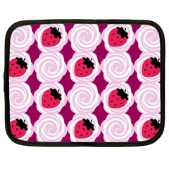 Cake Top Grape Netbook Case (xxl)