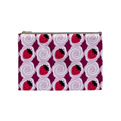 Cake Top Grape Cosmetic Bag (Medium)