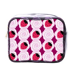 Cake Top Grape Mini Toiletries Bag (one Side) by strawberrymilk